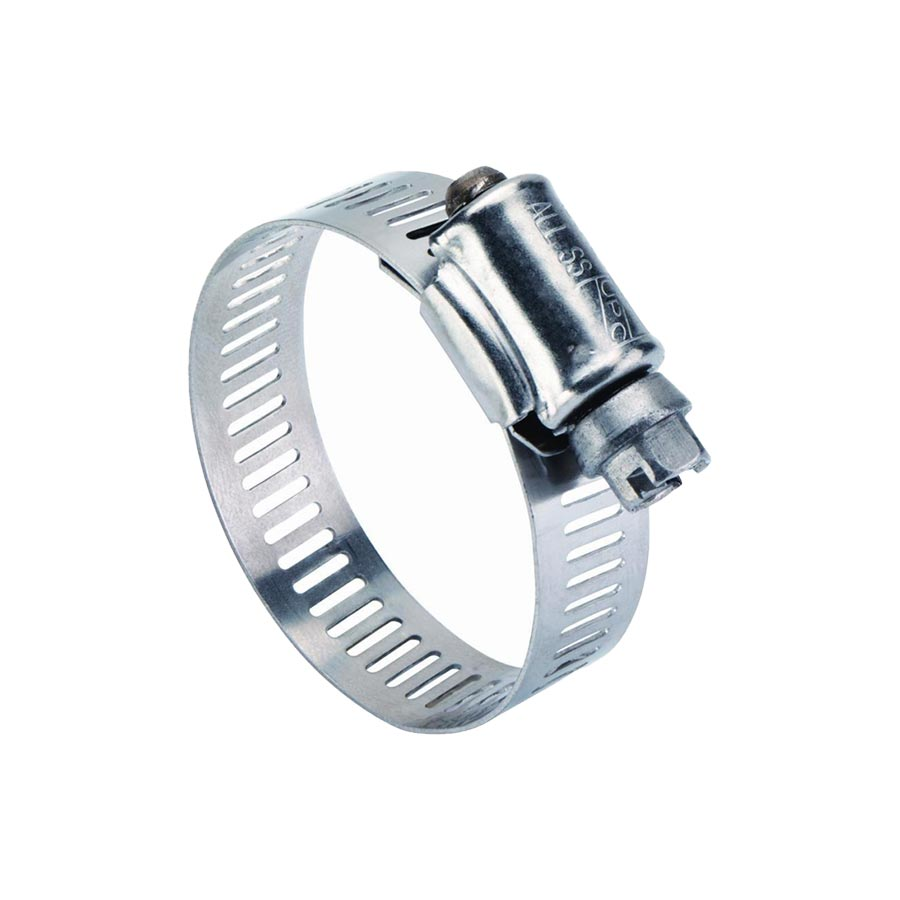 Hose Clamp-12.7MM Band 1 - 2 (25-51MM) (201SS/Yellow Zinc Screw)