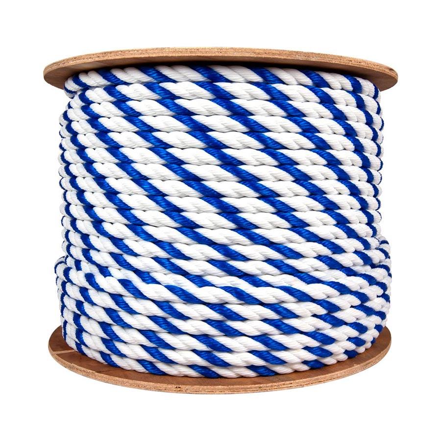 Blue & White Rope