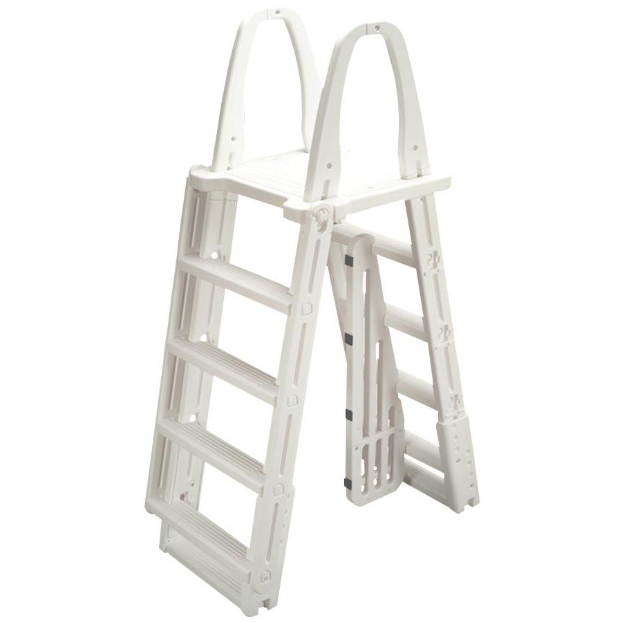 Ocean Blue A-Frame Ladder