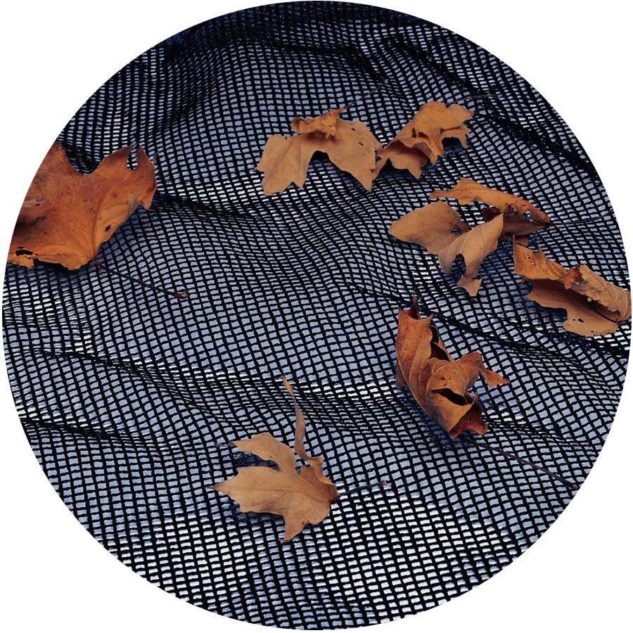 Round Above Ground Leaf Nets