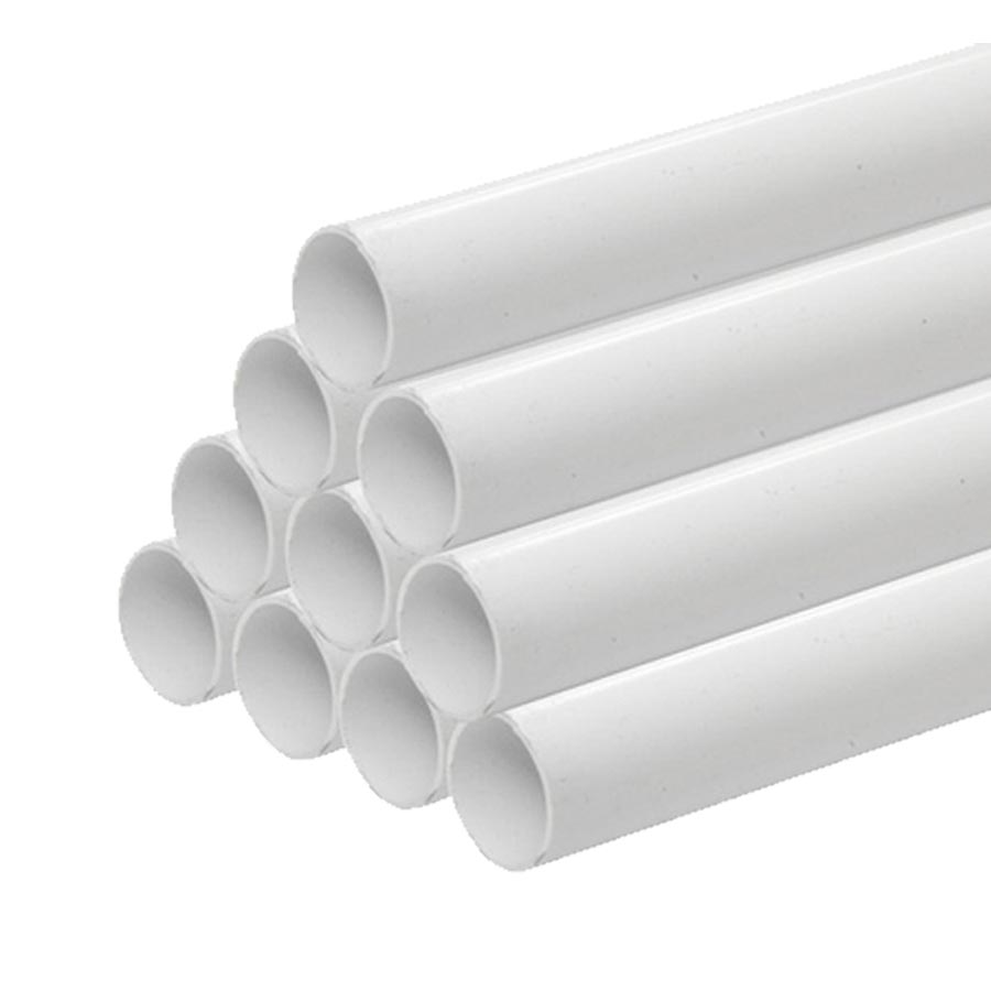 Rigid PVC SCH 40 White X 1'