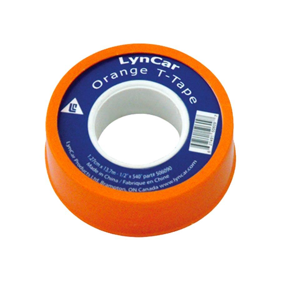 Plumbers Tape Orange 1/2